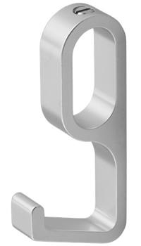 Alfalux-Kapstokhaak-Geadoniseerd-Aluminium