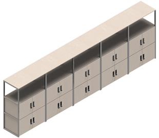 Cubics-opstelling