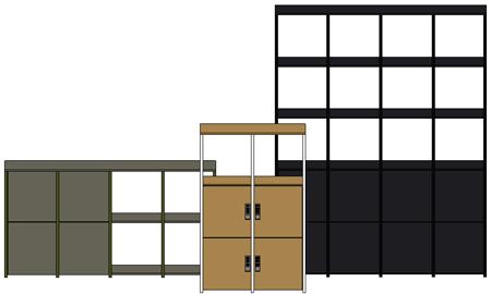 Cubics-Opstelling-Modellen